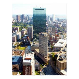 Vue aérienne de Boston 2 Carte Postale