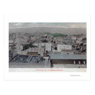 Vue aérienne de la ville # du 2Oakland, CA Cartes Postales