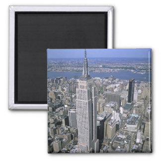 Vue aérienne de l'Empire State Building et Magnet Carré