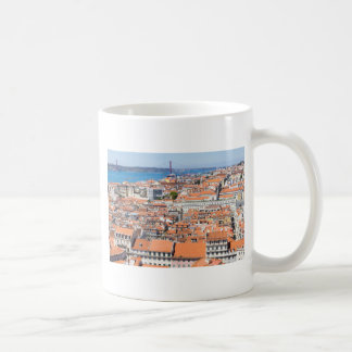 Vue aérienne de Lisbonne, Portugal Mug