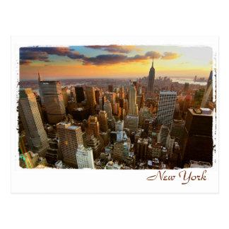 Vue aérienne de New York Cartes Postales