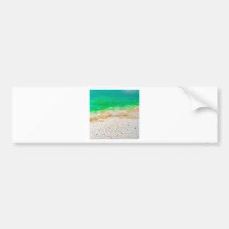 Vue aérienne de plage de Bondi Autocollant De Voiture