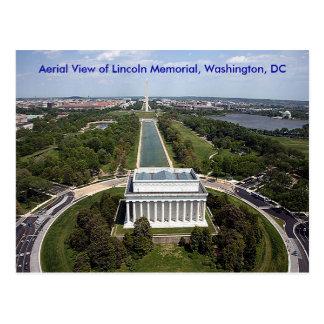 Vue aérienne du Lincoln Memorial, Washington, D Carte Postale