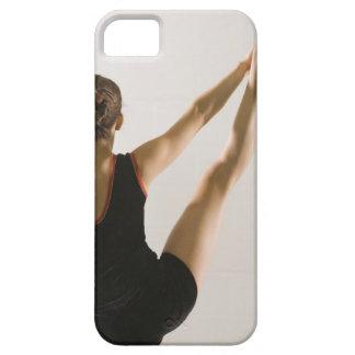 Vue arrière de gymnaste flexible coque barely there iPhone 5
