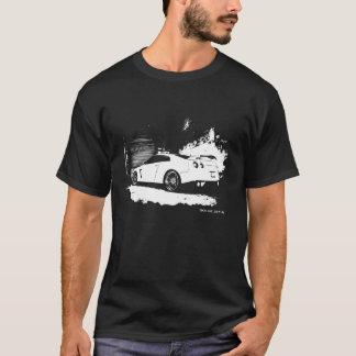 Vue arrière GTR de Nissan Skyline T-shirt