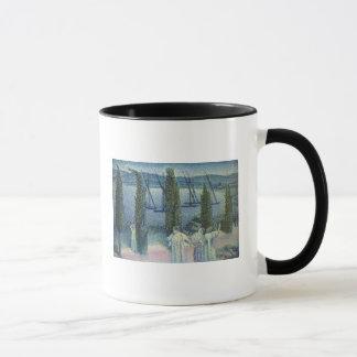 Vue côtière avec des arbres de Cypress, 1896 Mug