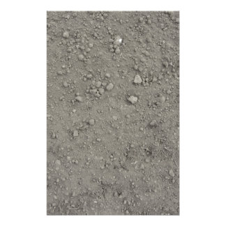 Vue courbe de la terre brune papiers à lettres