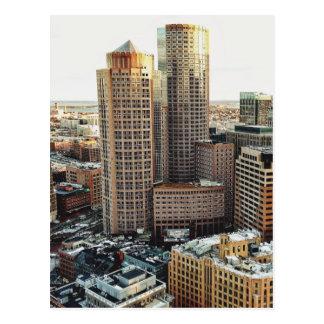 Vue de Boston Carte Postale