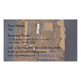 Vue de carte mère d'ATX de côté de soudure Carte De Visite