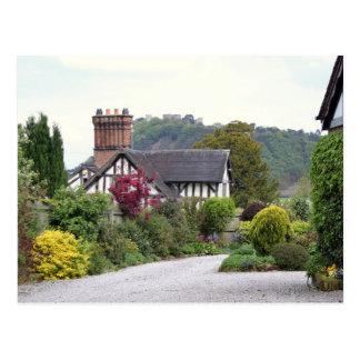 Vue de château de Beeston Cartes Postales