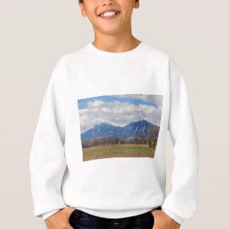 Vue de chien de prairie de Boulder le Colorado Sweatshirt