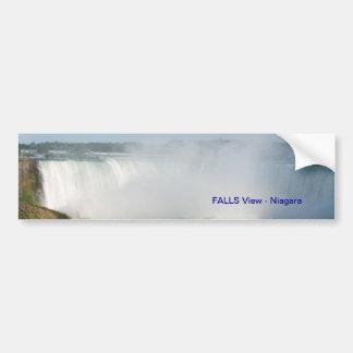 Vue de chutes : Niagara Etats-Unis Canada Autocollant Pour Voiture
