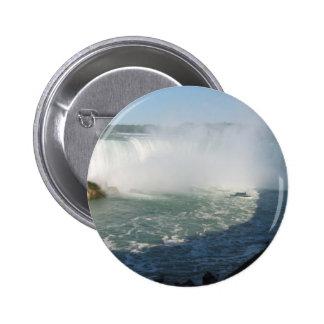 Vue de chutes : Niagara Etats-Unis Canada Badge