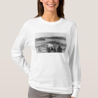 Vue de courbure du nord, photographie de l'Orégon T-shirt