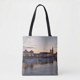 Vue de Dresde Elbe Tote Bag