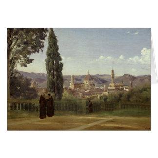 Vue de Florence Carte De Vœux
