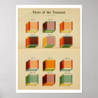 """Vue de Hinton la """"du Tessaract """" Posters"""