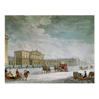Vue de la banque impériale carte postale
