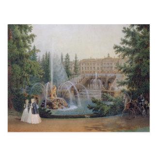 Vue de la cascade marneuse carte postale