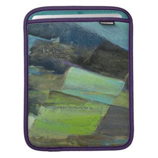 Vue de la copie | abstraite de la côte II Poches Pour iPad