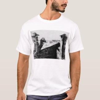 Vue de la fenêtre chez Le Gras, première T-shirt