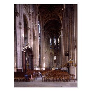 Vue de la nef, 1578-1637 carte postale
