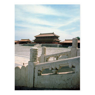 Vue de la rampe centrale cartes postales