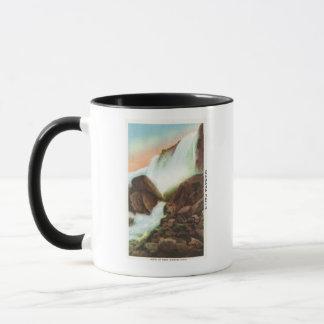 Vue de la roche des âges tasses