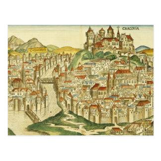 Vue de la ville de Cracovie (Kracow), du Nure Carte Postale