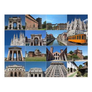Milan Cartes postales