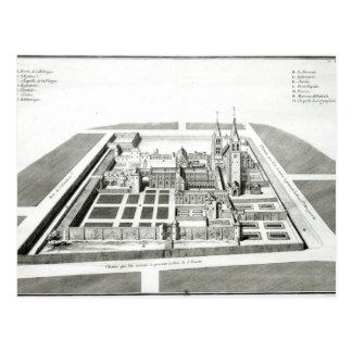 Vue de l'abbaye de Saint-Germain-DES-Pres Carte Postale