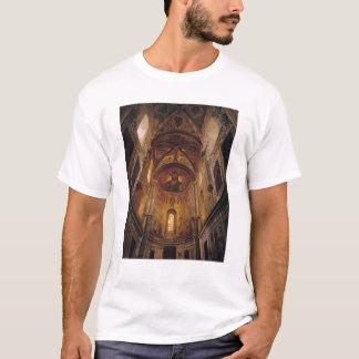 Vue de l'abside avec le Christ Pantocrator T-shirt