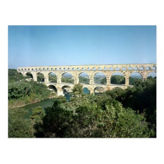 Vue de l'aqueduc romain, c.19 construit AVANT Carte Postale