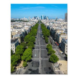 Vue de l'arc du Triomphe, copie de Paris Photo