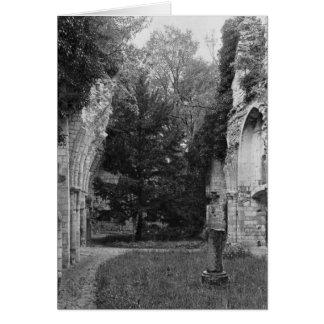 Vue de l'église, c.1052-67 carte de vœux
