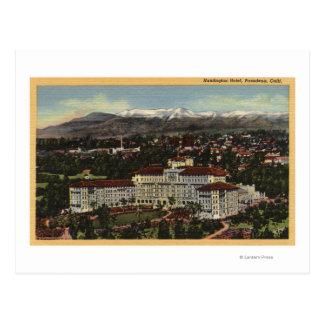 Vue de l'hôtel de Huntington Carte Postale