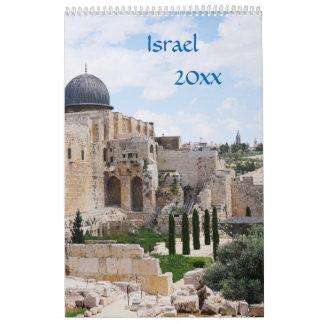 Vue de l'Israël, calendrier 2018