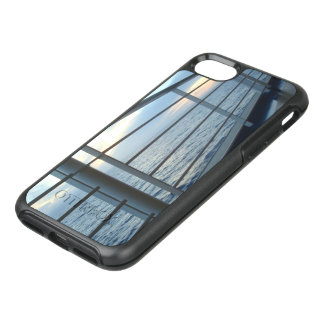 Vue de niveau de plate-forme au lever de soleil coque otterbox symmetry pour iPhone 7