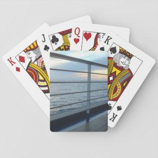 Vue de niveau de plate-forme cartes à jouer