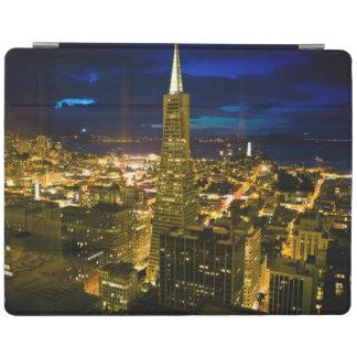 Vue de nuit de San Francisco. Protection iPad