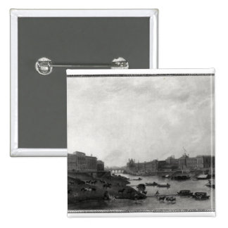 Vue de Paris du Pont-Neuf, c.1800 Badge