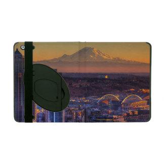 Vue de paysage urbain de Seattle du centre, le foo Étui iPad