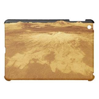 vue de perspective 3D de Sapas Mons sur Vénus Coque iPad Mini
