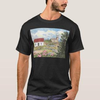 Vue de pièce d'île d'étoile une vue à l'île des t-shirt