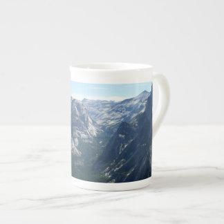 Vue de point de glacier en parc national de mug