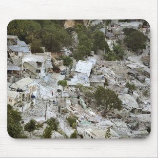 Vue de Port-au-Prince, Haïti Tapis De Souris