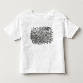 Vue de port d'Anvers T-shirt Pour Les Tous Petits