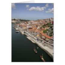 Vue de Porto Cartes De Vœux