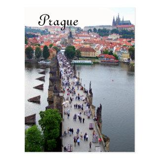 Vue de Prague Carte Postale