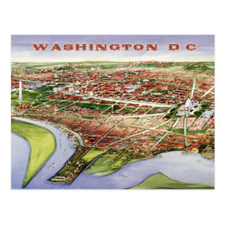 Vue de primevère farineuse de Washington, C.C Carte Postale